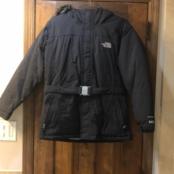a92d8cd1e Girls Northface Hyvent 550 Jacket